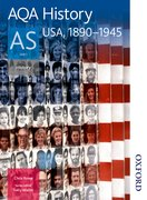 Cover for AQA History AS: Unit 1 - USA, 1890-1945