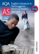 Cover for AQA English Literature A AS: The Struggle for Identity in Modern Literature