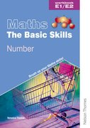 Cover for Maths the Basic Skills Number Workbook E1/E2