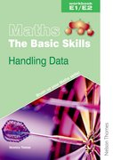 Cover for Maths the Basic Skills Handling Data Workbook E1/E2