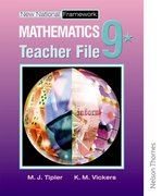 Cover for New National Framework Mathematics 9* Teacher Support File