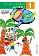 Cover for !Ole! - Spanish Workbook 1 for the Caribbean