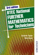 Cover for BTEC National Further Mathematics for Technicians Third Edition