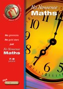 Cover for Bond No Nonsense Maths 7-8 years