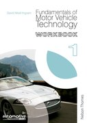 Cover for Fundamentals of Motor Vehicle Technology Workbook 1
