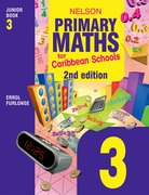 Cover for Nelson Primary Maths for Caribbean Schools Junior Book 3 2nd Edition