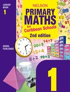 Cover for Nelson Primary Maths for Caribbean Schools Junior Book 1 Second Edition