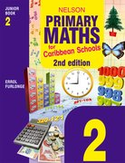 Cover for Nelson Primary Maths for Caribbean Schools Junior Book 2 Second Edition