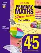 Cover for Nelson Primary Maths for Caribbean Schools Junior Book 4&5 2nd Edition
