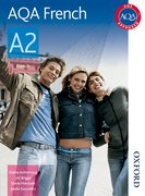 Cover for AQA A2 French Student Book