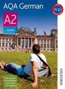 Cover for AQA A2 German Student Book