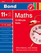 Cover for Bond 10 Minute Tests Maths 11-12 years