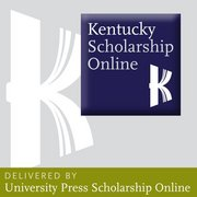 Kentucky Scholarship Online - Society and Culture