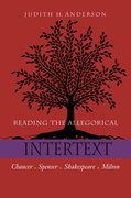 Cover for Reading the Allegorical Intertext
