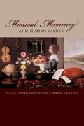 Cover for Musical Meaning and Human Values