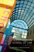 Cover for Fordham University School of Law
