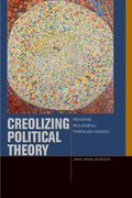 Cover for Creolizing Political Theory