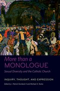 Cover for More than a Monologue: Sexual Diversity and the Catholic Church
