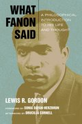 Cover for What Fanon Said