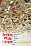 Cover for Recoding World Literature - 9780823273416