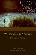 Cover for Wilderness in America