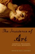 Cover for The Insistence of Art