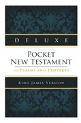 Cover for Deluxe Pocket New Testament with Psalms and Proverbs