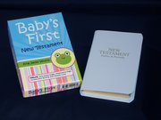 Cover for Just for Baby, Deluxe Pocket New Testament with Psalms and Proverbs