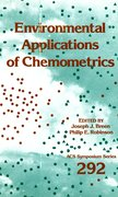 Cover for Environmental Applications of Chemometrics