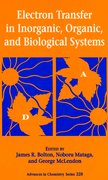 Cover for Electron Transfer in Inorganic, Organic, and Biological Systems