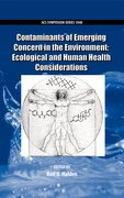 Cover for Contaminants of Emerging Concern in the Environment