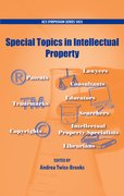 Cover for Special Topics in Intellectual Property