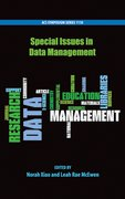 Cover for Special Issues in Data Management