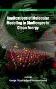 Cover for Applications of Molecular Modeling to Challenges in Clean Energy
