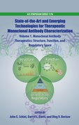 Cover for State-of-the-Art and Emerging Technologies for Therapeutic Monoclonal Antibody Characterization Volume 1.