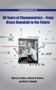 Cover for 40 Years of Chemometrics