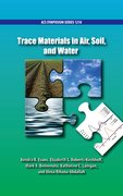Cover for Trace Materials in Air, Soil, and Water - 9780841231108