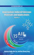 Cover for Aggregation-Induced Emission: Materials and Applications Volume 2