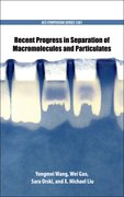 Cover for Recent Progress in Separation of Macromolecules and Particulates