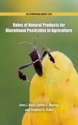Cover for Roles of Natural Products for Biorational Pesticides in Agricultuure