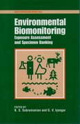 Cover for Environmental Biomonitoring