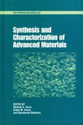 Cover for Synthesis and Characterization of Advanced Materials