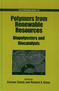 Cover for Polymers from Renewable Resources