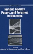 Cover for Historic Textiles, Papers, and Polymers in Museums