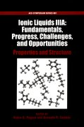 Cover for Ionic Liquids IIIA: Fundamentals, Progress, Challenges, and Opportunities