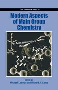 Cover for Modern Aspects of Main Group Chemistry
