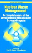 Cover for Nuclear Waste Management