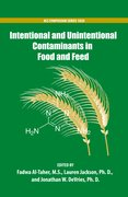 Cover for Intentional and Unintentional Contaminants in Food and Feed