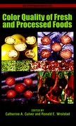 Cover for Color Quality of Fresh and Processed Foods