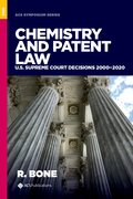 Cover for Chemistry and Patent Law
